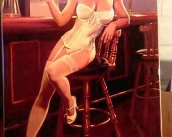 EROTIC ADULT VINTAGE Pin-up