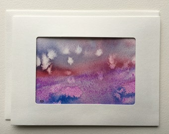 Original Watercolor Cards package of 5