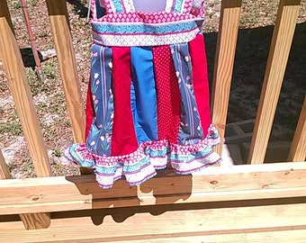 Red White and Blue Tunics
