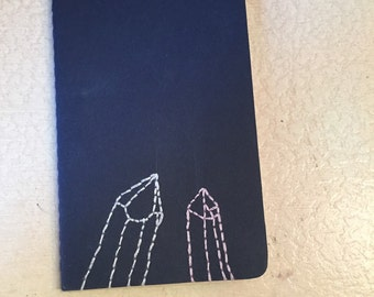 Crystal Embroidered Notebook