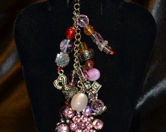 Pretty in Pink Keychain