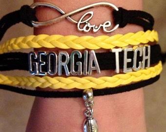 Georgia Tech Bracelet