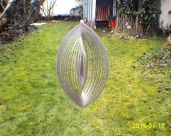 Beautiful 3D wind chimes Elypse Gr. L measuring 36 cm x 22 cm.