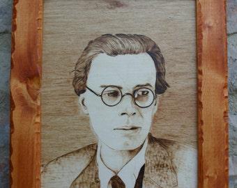Portrait Aldous Huxley