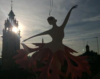 handmade Paper flower fairy