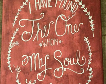 Song of Solomon 3:4 Painting