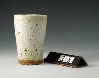 Stoneware Cup with Monterey Beach Sand #28