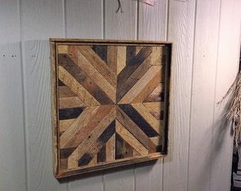 Rustic Geometric, Wall Hanging