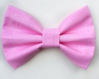 BIG Pink Glitter Bow, baby headband, baby hair clip, hair bow, headband, pink bow, baby girl, girl toddler, baby gift
