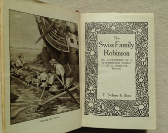 The Swiss Family Robinson antiquarian book