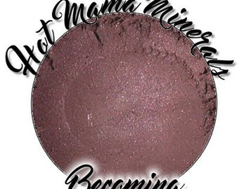Becoming Eye Candy Mineral Eyeshadow Mauve Vegan