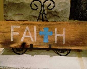 Faith Pallet Wood Sign