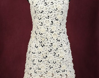Crochet dress Elegance