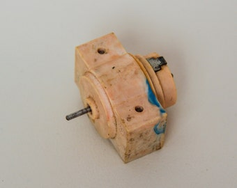 Vintage USSR micro electric motor for models and toys MDP-F1