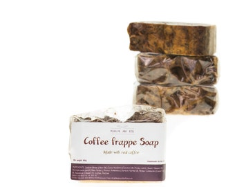 Coffee Frappe traditional handmade soap bar