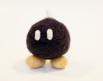 Bob-omb Super Mario Needle Felt