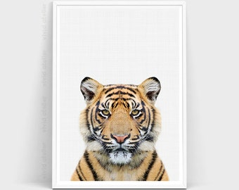 """Shop """"tiger"""" in Art & Collectibles"""