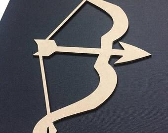 Bow and Arrow Boho Native Flat Lay Prop - Photo Prop - Scrap Booking - Craft