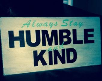 Humble Wall Sign