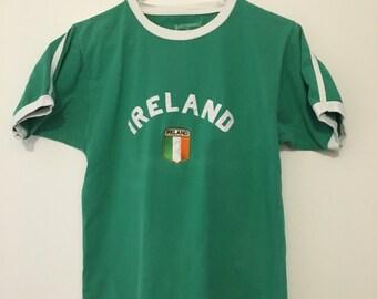 Vintage Ireland Cuffed T-shirt