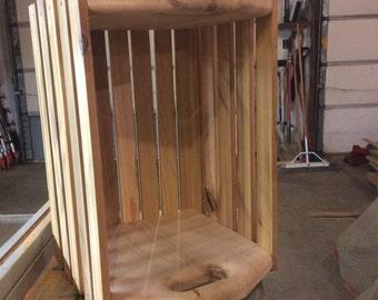 Reclaimed Cedar Crate