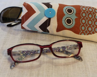 Ollie Owl - Eyeglasses / Sunglasses Case