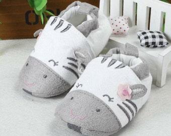 Baby Zebra Shoes