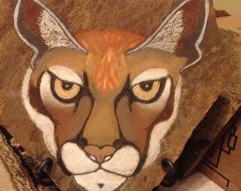Mountain Lion, The Eyes Of A Hunter