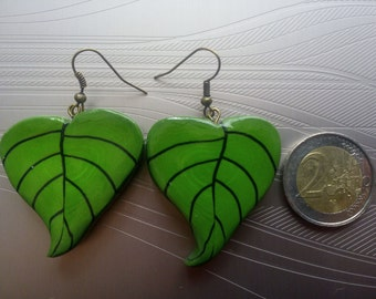 The Islands leaves earrings