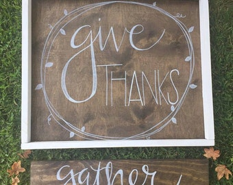 Give Thanks and Gather Set