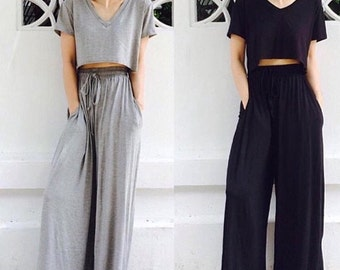 Loose Fitting Summer Pants