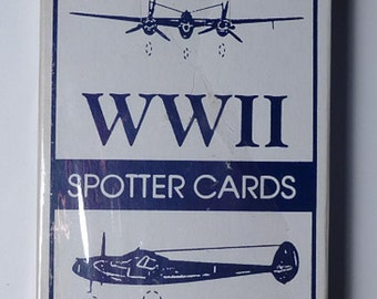 WW II Spotter Cards
