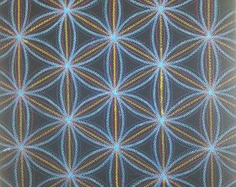 Sacred Geometry Flower of Life Wall Hanging