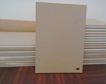 A3 sketchbook portrait tissue interleaved.