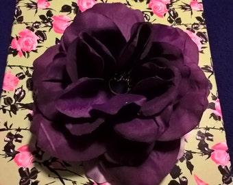 Purlpe Silk flower