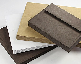 25 - A7 Wood Grain Texture Envelopes - 5 1/4 x 7 1/4