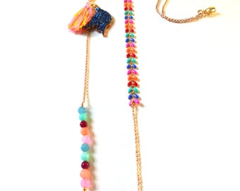 Long Necklace Dove