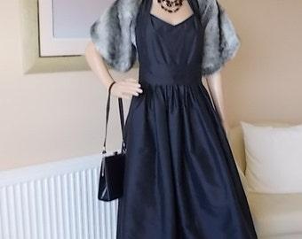 Vintage silk dress - Etsy