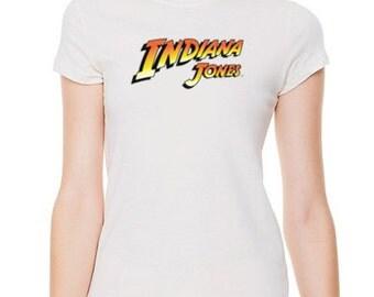 Indiana Jones movie ladies t-shirt