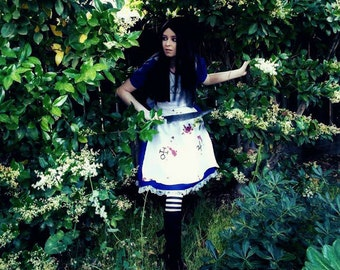 American McGee's Alice Madness Returns Cosplay Costume Dress