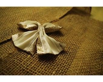 Elegant Gold Bow
