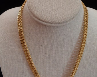 "Vintage Gold Tone 18"" Monet Necklace"