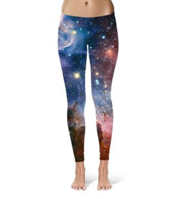 Space leggings space tights outer space clothing space for Outer space clothing