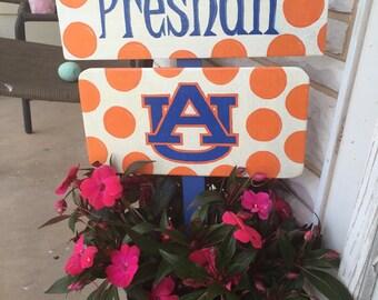 University Yard Sign