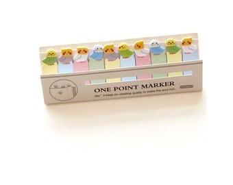 Parakeet Sticky Notes / Cute Stationery / Office Supplies / Cute Gifts / Small Gifts / Bird Sticky Notes / Cute Sticky Notes / Bird