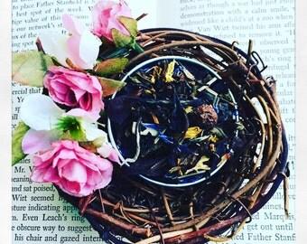 Champagne Cassis - White Tea - Luxury Loose Leaf Tea- Antioxidant Rich! current- gypsy soul- healthy