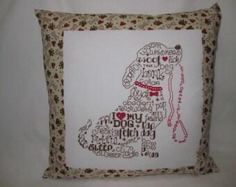 Puppy Pillow