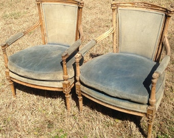 Set of Vintage Armchairs