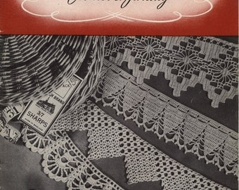 Laces and Edgings Crochet and Tatting Book No. 199