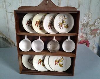 Holly Hobbie plate rack